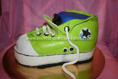 Coolest Converse Sneaker Cake