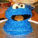 Homemade Cookie Monster Cake Design