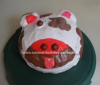Homemade Cow Cake