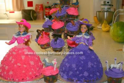 Homemade Cowgirl Cakes