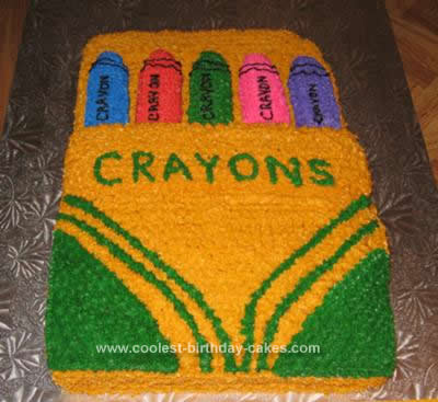 Coolest Homemade Crayons Cakes