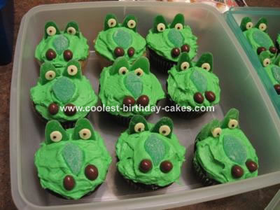 Crocodile Cupcakes