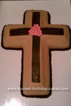 Homemade Cross Cake