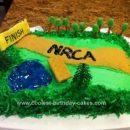 Homemade Cross Country Running Cake