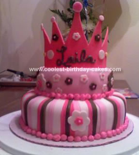 Homemade Crown Cake