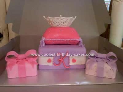 Homemade Crown Cake Idea