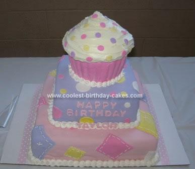 Homemade Cupcake Cake