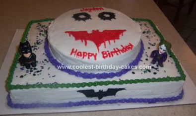 Incredible Coolest Dark Knight Joker Cake Funny Birthday Cards Online Eattedamsfinfo