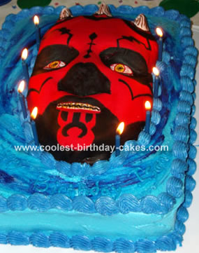 Darth Maul Cake