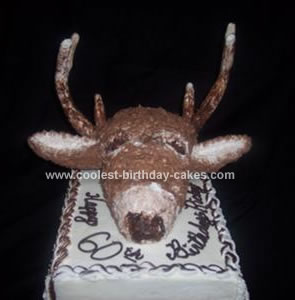 Homemade Deer Cake