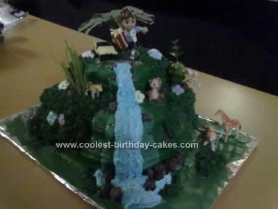 Homemade Diego Birthday Cake Idea