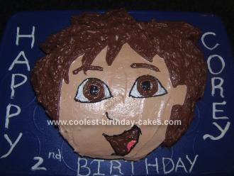 Homemade Diego Cake