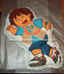 Homemade Diego Cake