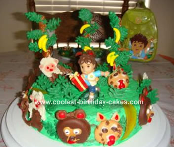 Diego Jungle Cake