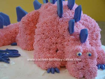 Homemade Dinosaur Birthday Cake Idea