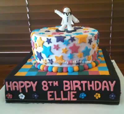Incredible Coolest Disco Birthday Cake Funny Birthday Cards Online Hendilapandamsfinfo