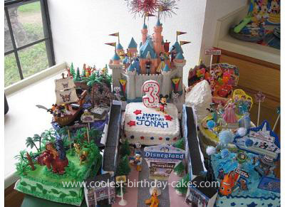 Remarkable Coolest Disneyland Birthday Cake Funny Birthday Cards Online Aeocydamsfinfo