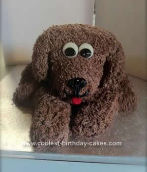 Homemade Dog Birthday Cake