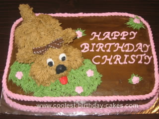 Homemade Dog Cake