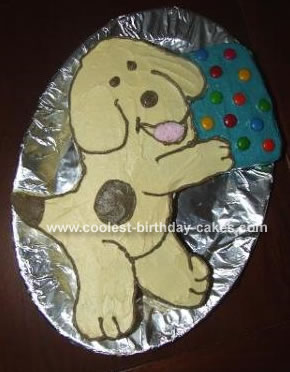 Cool Homemade Spot The Dog Cake