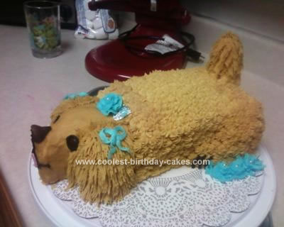 Homemade Dog Cake