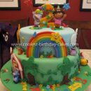 Coolest Dora 2nd Birthday Cake