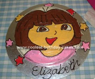 My Daughter Is Dora Crazy And For Her 3rd Birthday I Decided To Make A Cake Once Thought Out This Was Very Easy