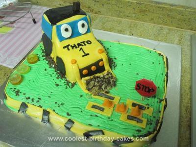 Homemade Dozer Cake