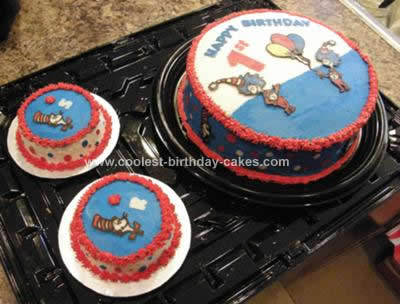 Sensational Coolest Homemade Dr Seuss Cakes Funny Birthday Cards Online Alyptdamsfinfo