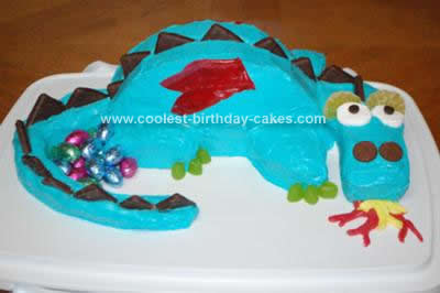 Wondrous Cool Homemade Dragon Birthday Cake Design Funny Birthday Cards Online Alyptdamsfinfo