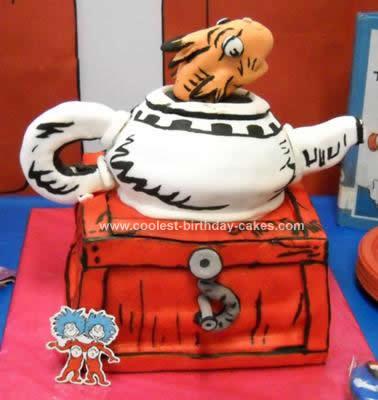 Homemade Dr.Seuss Cake Idea