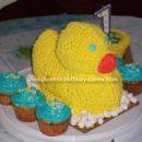 Homemade Ducky Cake