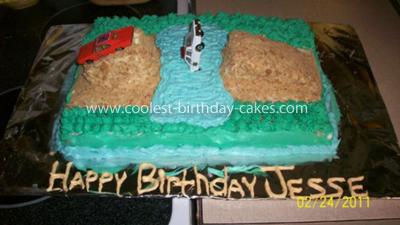 Homemade Dukes Of Hazzard Cake