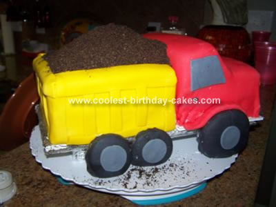 Awesome Coolest Dump Truck Funny Birthday Cards Online Elaedamsfinfo