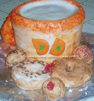 Homemade Dunkin Donuts Cake