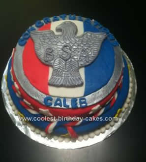 Homemade Eagle Scout Court Of Honor Cake