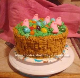 Coolest Easter Basket Cake