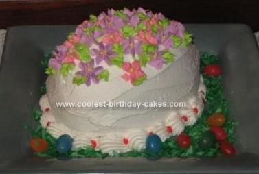 Coolest Easter Egg Cake