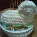 Homemade Easter Lamb Cake