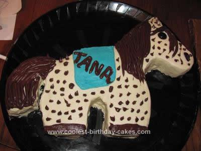 Homemade Easy Horse Cakes