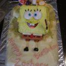 Homemade Easy Spongebob Square Pants Toy Cake