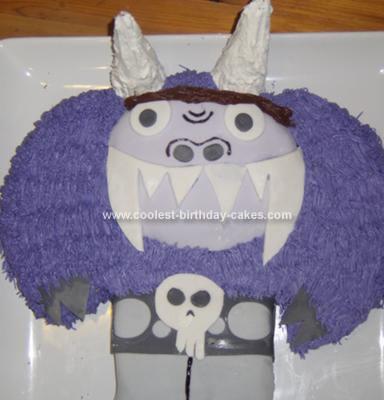 Homemade Eduardo Birthday Cake