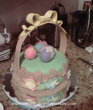 Homemade  Eggster Cake