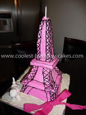Fine Coolest Eiffel Tower Cake Birthday Cards Printable Giouspongecafe Filternl