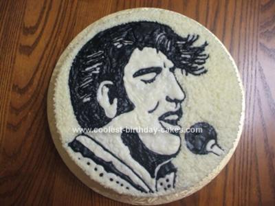 Homemade Elvis Cake
