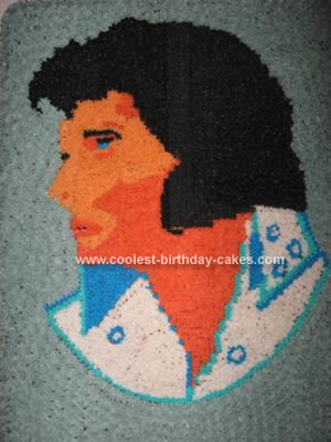 Homemade Elvis Cake
