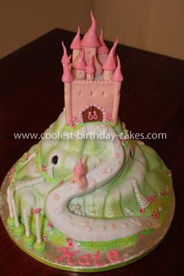 Coolest Enchanted Castle Birthday Cake