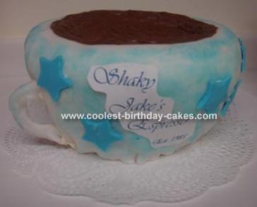 Jake's Espresso Cup Cake