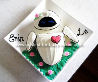 Erin's Eve from Wall-E Cake