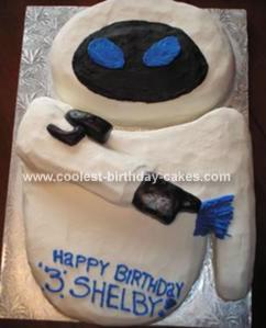 Coolest Eve Wall E Cake